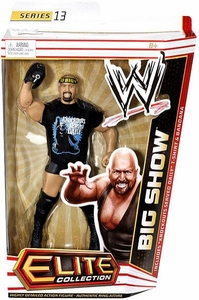 Mattel WWE Wrestling Elite Series 13 Action Figure Big Show [Knockouts Served Daily T-Shirt & Bandana]