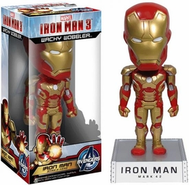 Funko Iron Man 3 Wacky Wobbler Bobble Head Iron Man [Mark 42]
