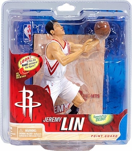 McFarlane Toys NBA Sports Picks Series 21 Action Figure Jeremy Lin (Houston Rockets) White Jersey