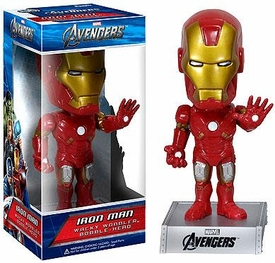 Funko Marvel Avengers Movie Wacky Wobbler Bobble Head Iron Man
