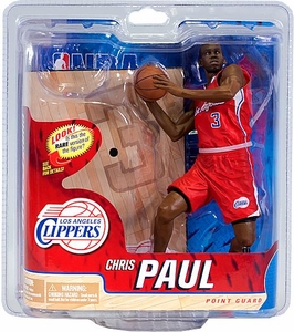 McFarlane Toys NBA Sports Picks Series 21 Action Figure Chris Paul (Los Angeles Clippers) Red Jersey