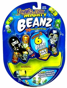 Mighty Beanz ORIGINAL Series 2 Starter Pack Set [6 Beanz]