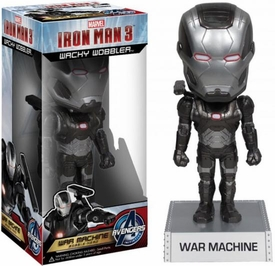 Funko Iron Man 3 Wacky Wobbler Bobble Head War Machine