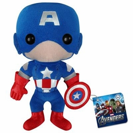 Funko Marvel Avengers Plush Figure Captain America