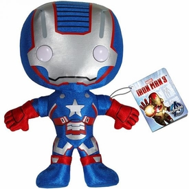Funko Iron Man 3 Plush Figure Iron Patriot