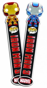 Funko Iron Man 3 Bookmarks Set Iron Man Mark 42 & Iron Patriot