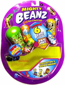 Spin Master Mighty Beanz ORIGINAL Series 4 Starter Pack Set [6 Beanz]