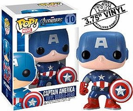 Funko POP! Marvel Avengers Vinyl Figure Captain America