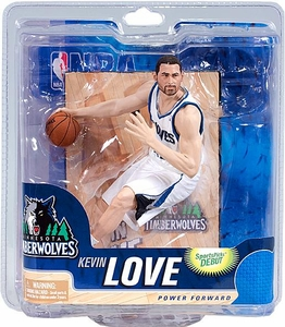 McFarlane Toys NBA Sports Picks Series 21 Action Figure Kevin Love (Minnesota Timberwolves) White Jersey