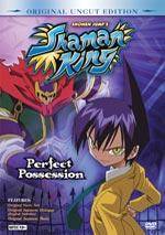 Shaman King DVD Vol. 2 - Perfect Possession (UNCUT) BLOWOUT SALE!
