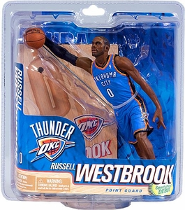 McFarlane Toys NBA Sports Picks Series 21 Action Figure Russell Westbrook (Oklahoma City Thunder) Blue Jersey