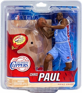 McFarlane Toys NBA Sports Picks Series 21 Action Figure Chris Paul (Los Angeles Clippers) Powder Blue Jersey Chase Piece Only 2,000+ Made!