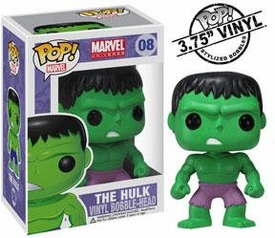 Funko POP! Marvel Vinyl Bobble Head Hulk