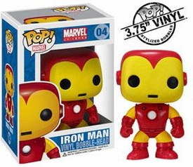 Funko POP! Marvel Vinyl Bobble Head Iron Man