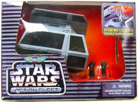Star Wars Micro Machines Action Fleet Darth Vaders Tie Fighter Featuring Lord Vader Imperial Pilot