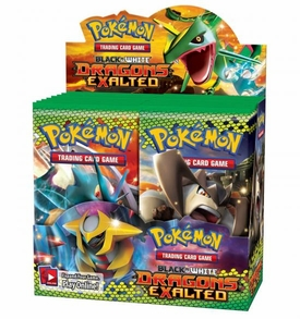 Pokemon Card Game Dragons Exalted (BW6) Booster Box [36 Packs]