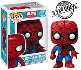 Funko POP! Marvel Vinyl Bobble Head Spider-Man