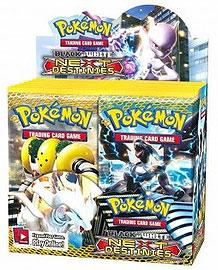 Pokemon Card Game Next Destinies (BW4) Booster Box [36 Packs]