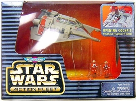 Star Wars Micro Machines Action Fleet Rebel Snowspeeder Featuring Luke & Rebel