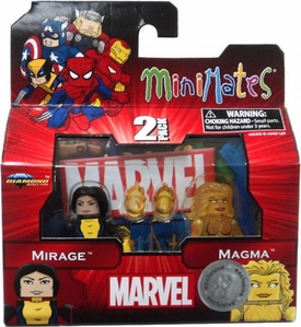 Marvel Minimates Exclusive 2-Pack Mirage & Magma