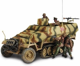 Forces of Valor 1:32 Scale Enthusiast Series Axis German Sd. Kfz. 251/1 Hanomag with 4 Soldiers [Hungary]