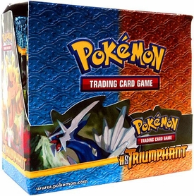 Pokemon Triumphant (HS4) Booster Box [36 Packs]