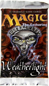 Magic the Gathering Weatherlight Booster Pack