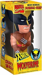 Funko Marvel X-Men SDCC 2008 Exclusive Wacky Wobbler Bobble Head Wolverine Slightly Worn Packaging; MINT Contents!