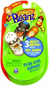 Mighty Beanz NEW Series 2 Booster Pack [3 Beanz] BLOWOUT SALE!