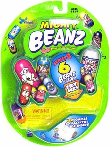 Spin Master Mighty Beanz ORIGINAL Series 3 Starter Pack Set [6 Beanz]