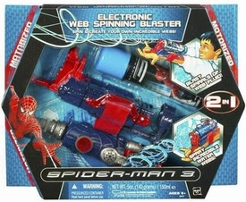 Spider-Man 3 Hasbro Movie Roleplay Toy Electronic Web Spinning Blaster [RED Finish]