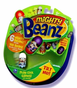 Mighty Beanz NEW Series 1 Starter Pack Set [6 Beanz]