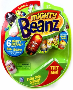 Mighty Beanz NEW Series 2 Starter Pack Set [6 Beanz]
