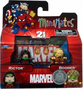 Marvel Minimates Exclusive 2-Pack Rictor & Boomer