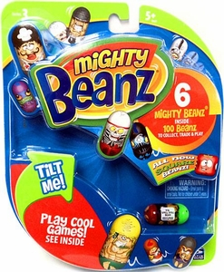 Mighty Beanz NEW Series 3 Starter Pack Set [6 Beanz]