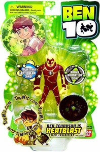 Ben 10 Alien Collection 4 Inch Series 1 Action Figure HeatBlast