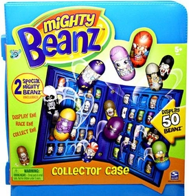 Mighty Beanz Series 1 {Blue} Collector Carrying Case [Includes 2 Exclusive Special Edition Mighty Beanz!] BLOWOUT SALE!