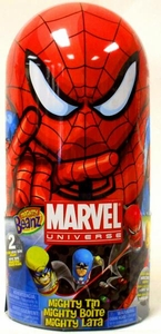 Mighty Beanz Marvel Universe Tin Set Carry Case [Includes 2 Exclusive Beanz!] BLOWOUT SALE!