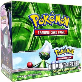 Pokemon Card Game Secret Wonders (DP3) Booster Box [36 Packs]