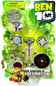 Ben 10 Alien Collection 4 Inch Series 1 Action Figure GreyMatter