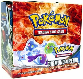Pokemon Card Game Mysterious Treasures (DP2) Booster Box [36 Packs]