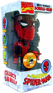 Funko Marvel 2008 SDCC San Diego Comic-Con Exclusive Wacky Wobbler Bobble Head The Amazing Spider-Man