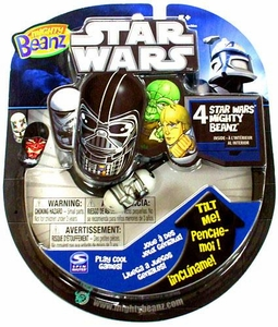 Mighty Beanz 2010 Star Wars Starter Pack Set [4 Beanz]