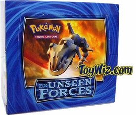 Pokemon Card Game EX Unseen Forces Booster Box [36 Packs]