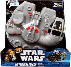 Mighty Beanz 2010 Exclusive Star Wars Mighty Beanz Collector Carry Case Millennium Falcon Trux