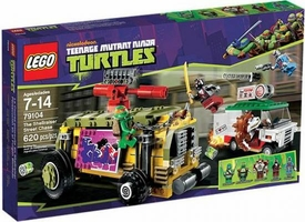 LEGO Teenage Mutant Ninja Turtles Set #79104 Shellraiser Street Chase