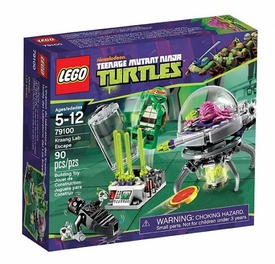 LEGO Teenage Mutant Ninja Turtles Set #79100 Kraang Lab Escape
