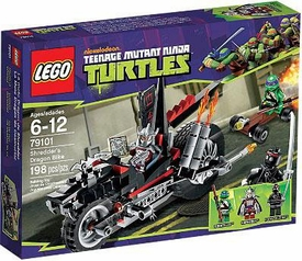 LEGO Teenage Mutant Ninja Turtles Set #79101 Shredder's Dragon Bike
