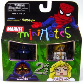 Marvel Minimates Series 23 Mini Figure 2-Pack Cloak & Dagger