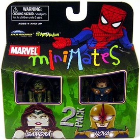 Marvel Minimates Series 23 Mini Figure 2-Pack Gamora & Nova